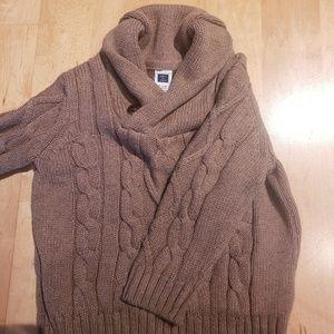 Janie and Jack shawl collar sweater